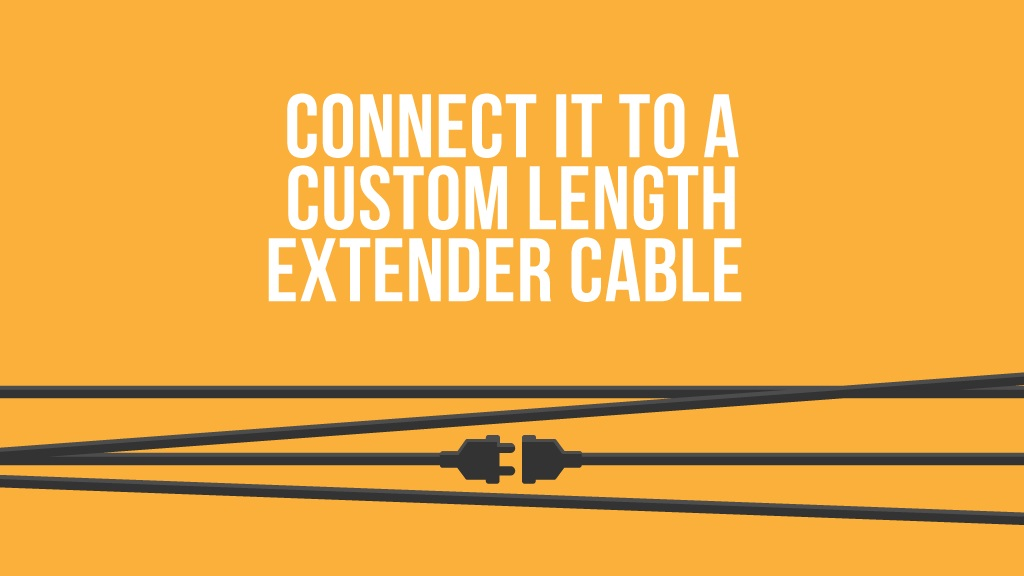 Custom length cable