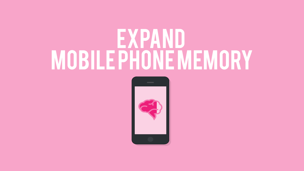 Expand mobile phone memory